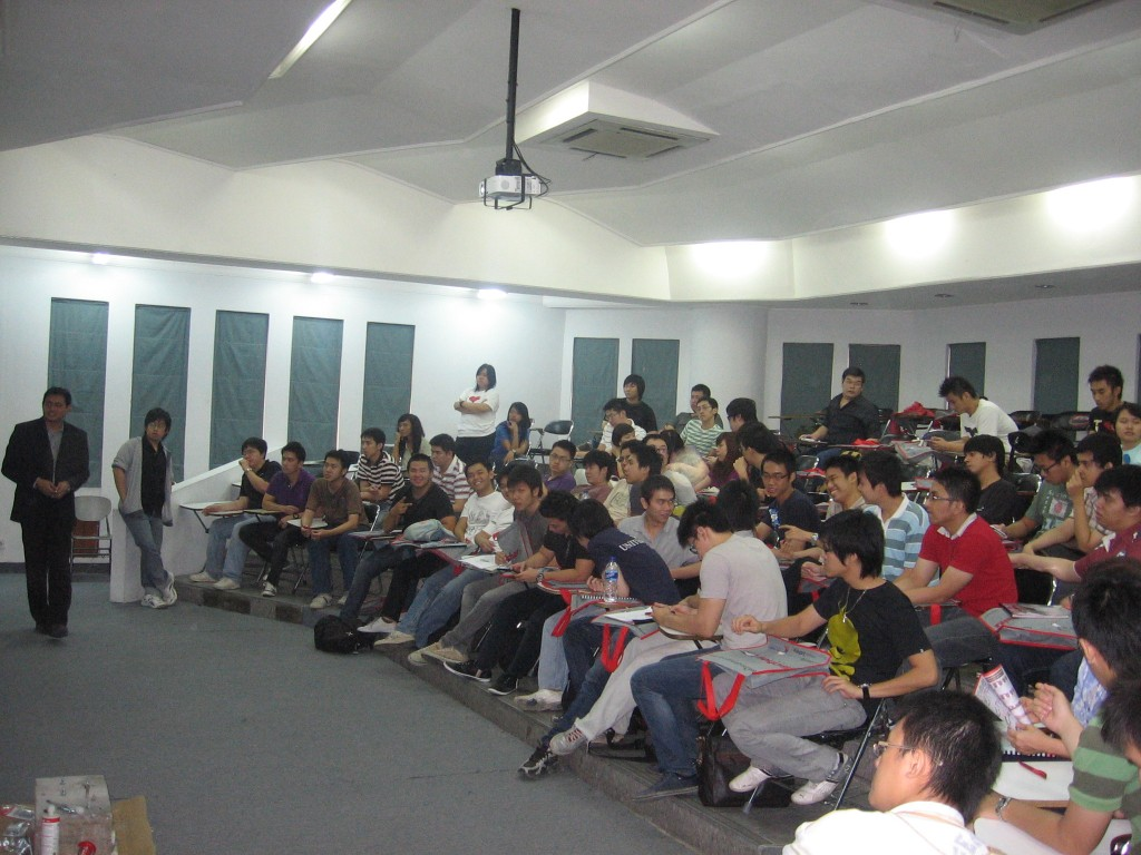 Students of Petra Christian University